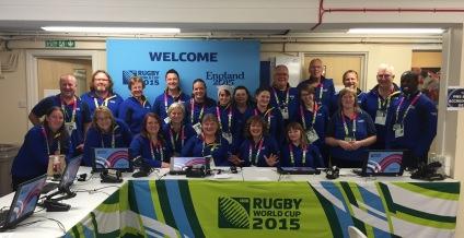 Accreditation Team, Millennium Stadium, RWC2015