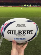 Match Ball, France V Ireland, RWC 2015