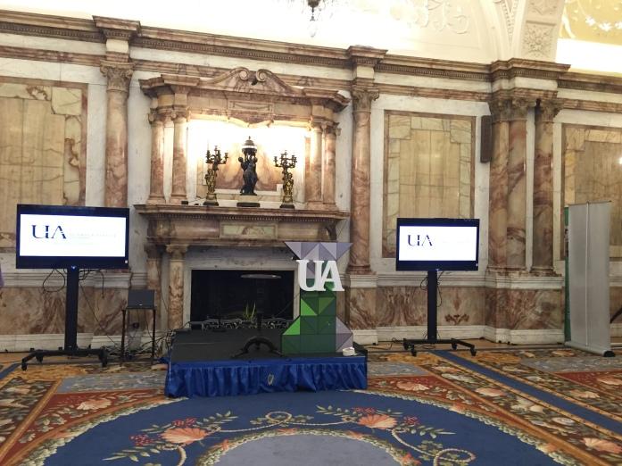 Iveagh House set up for Undergraduate Awards