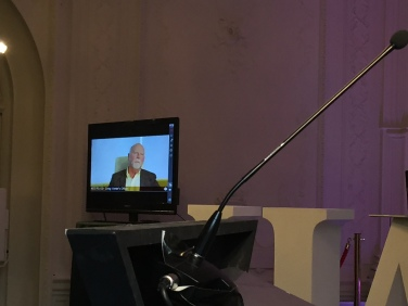Live video link as part of Undergraduate Awards